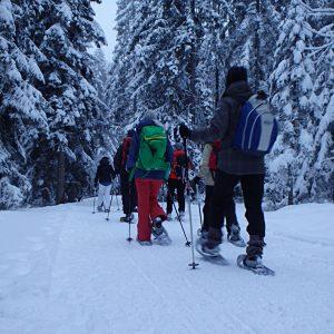 Rahmenprogramm Schneeschuhtour